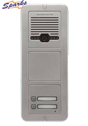 The EVMX2C 2 Button Color Video Door Entry call station