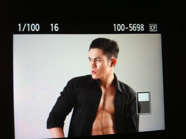 Southeast Asian Hot Male Model