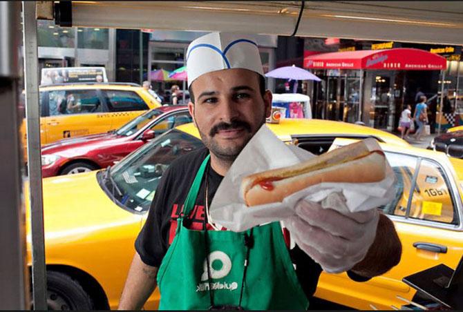 Best Hot Dog On Broadway New York