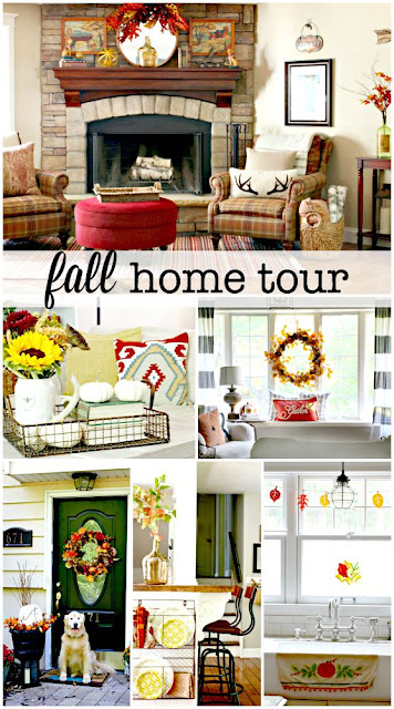 Fall home tour-www.goldenboysandme.com