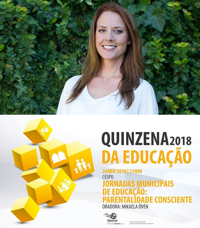 Parentalidade Consciente com Mikaela Övén, VNFamalicão 26/4