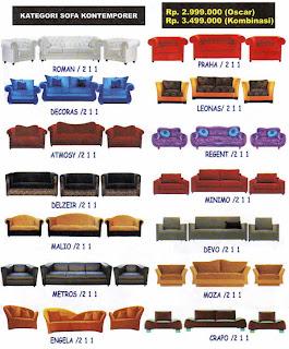 sofa kontemporer
