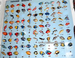 Fridge Magnet Wood Handpainted from Bali Handicrafts Wholesale