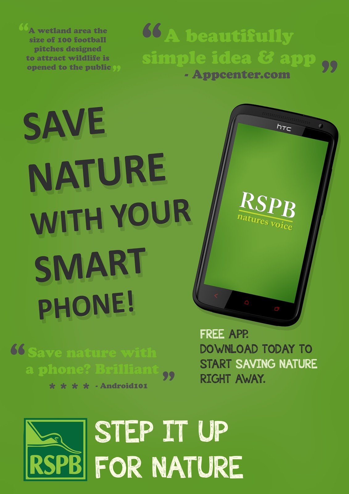 RSPB - Professional Practice - Rob Taylor Gibson: Advertisement Ideas.