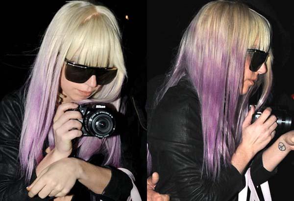 dip_dye_Lady_Gaga