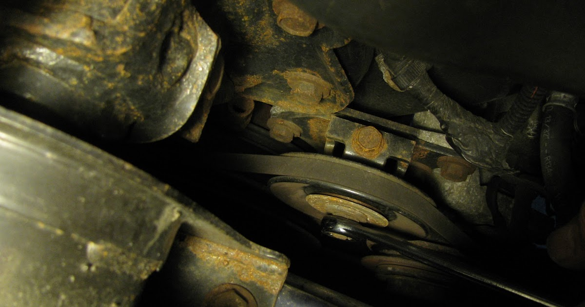 The Original Mechanic  Replacing The Serpentine Belt On A