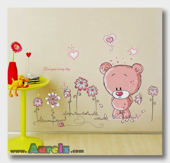 bear pink ay7017