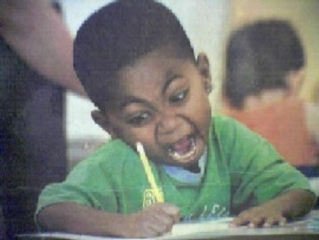 Image result for black person scribbling furiously