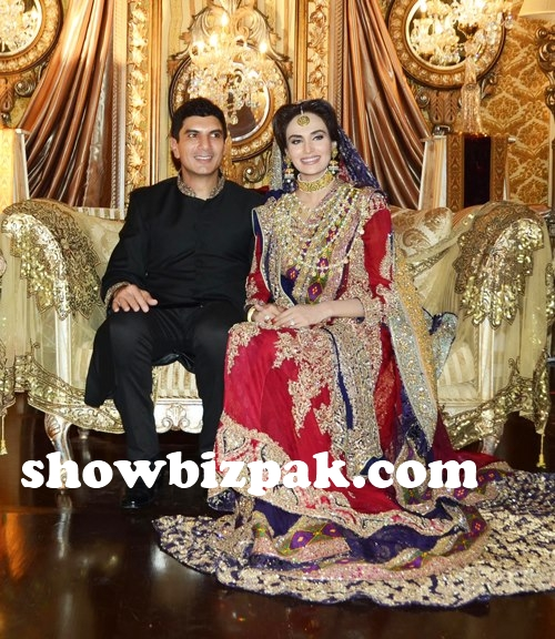 Celebrity weddings mehreen syed wedding pictures