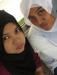 nabila and i