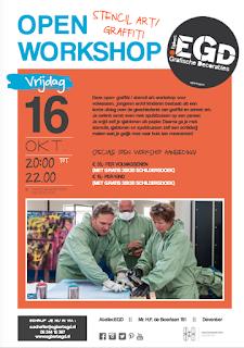16/10 OpenWorkshop.EGD + gratis schilderdoek!