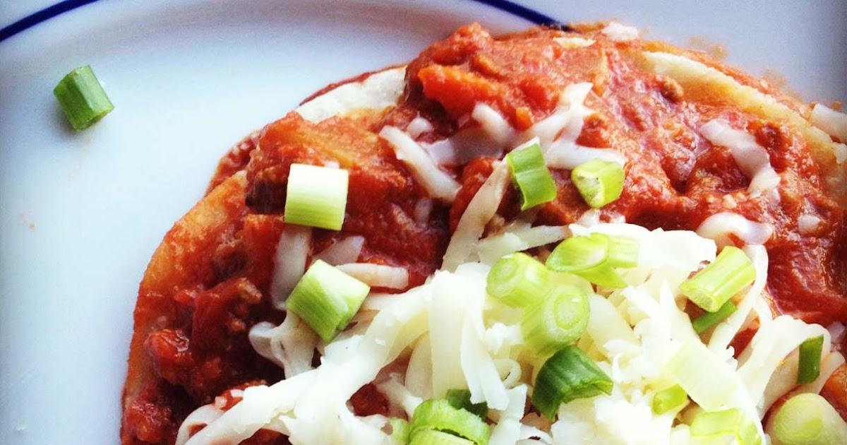 Enjoying Everyday: Flat Sonoran Enchiladas