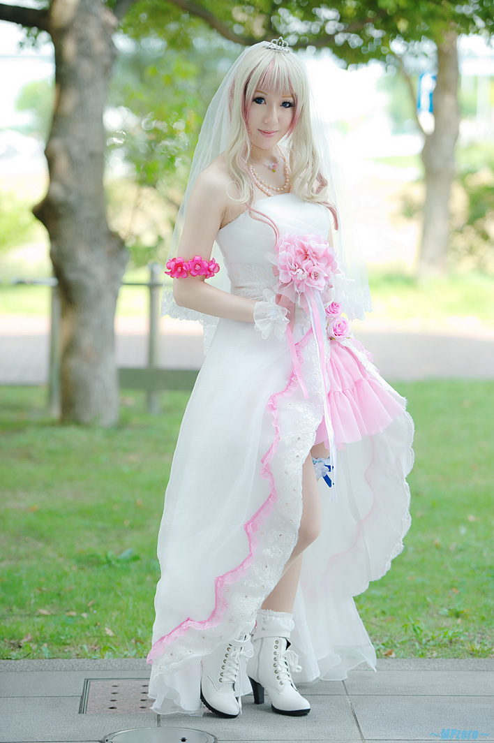 Young Chic and Social The Clamp Wedding Dress. Cosplay and Wedding Dresses! Can They be Both?
