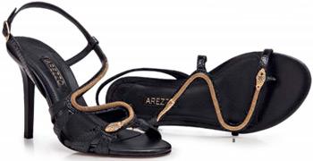 Arezzo alto verão coleção sandalias
