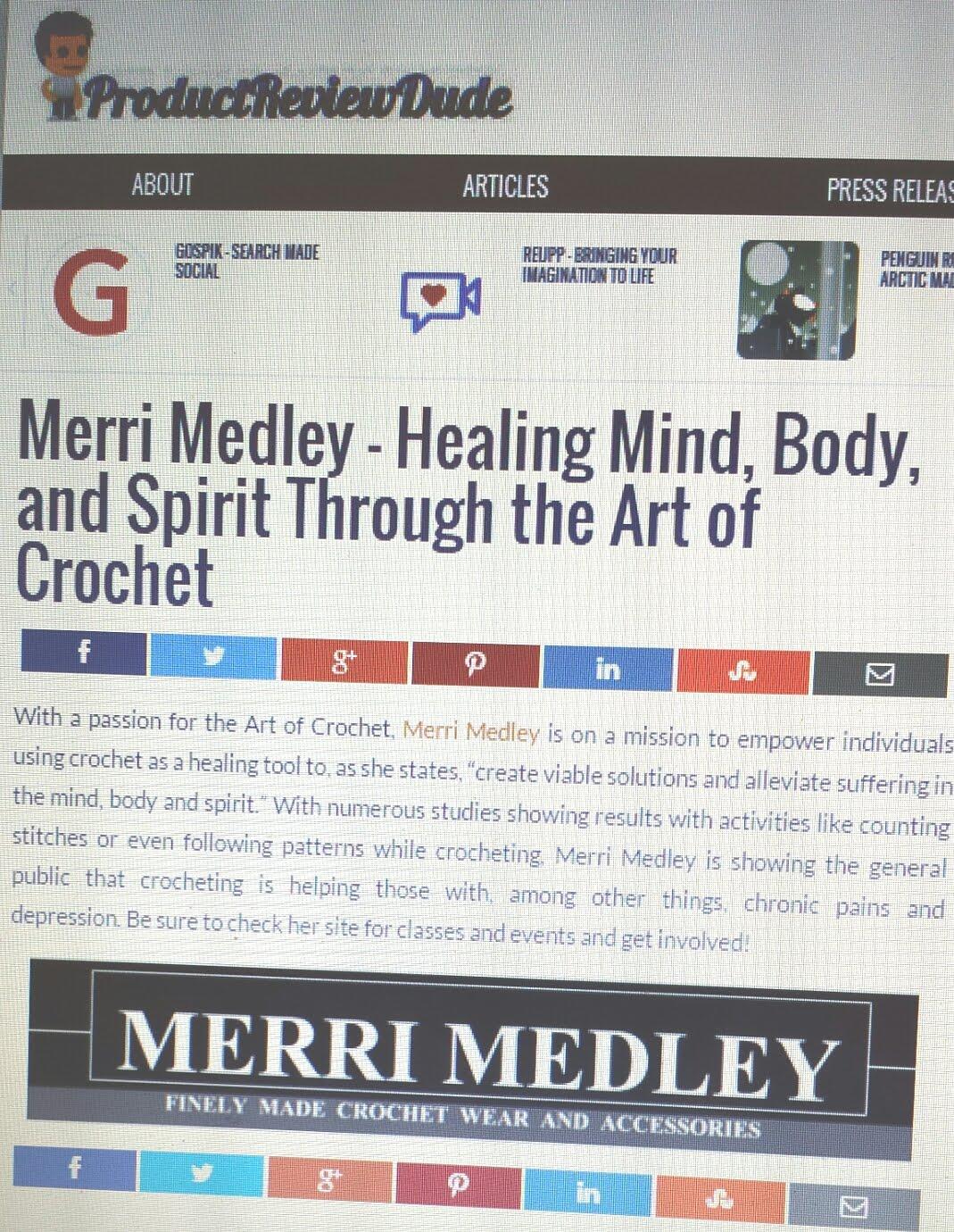 MERRI MEDLEY REVIEW