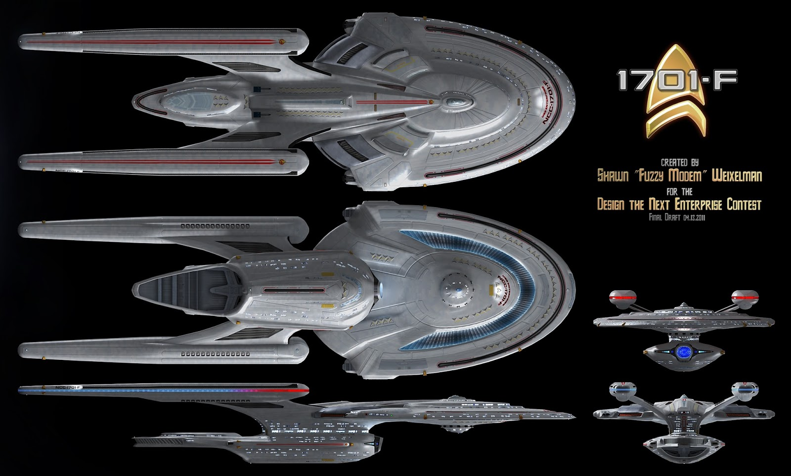 The Trek Collective: Complete 2016 Ships of the Line line-up revealed