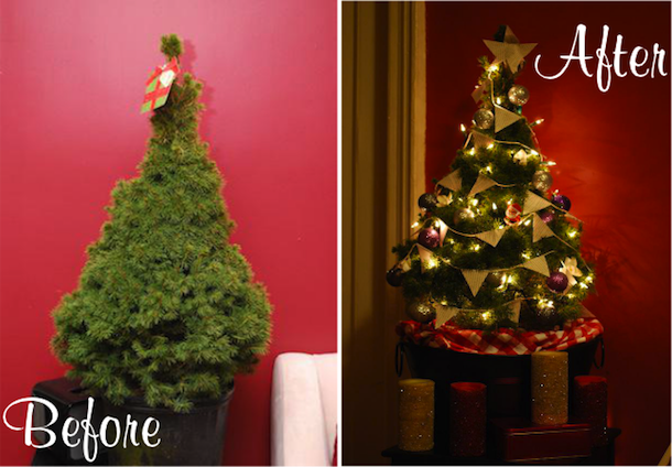 DIY Decorating: Our Christmas Tree - Always Order Dessert