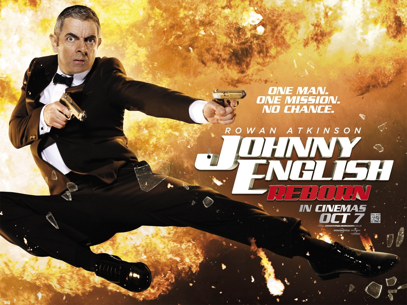 FILM Johnny English Reborn 2011