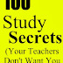 100 Study Secrets - Free Kindle Non-Fiction