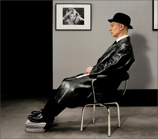 John Dobson whistler pastiche self-portrait