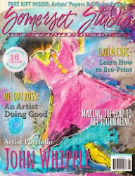 my painting on the cover! of Somerset Studio