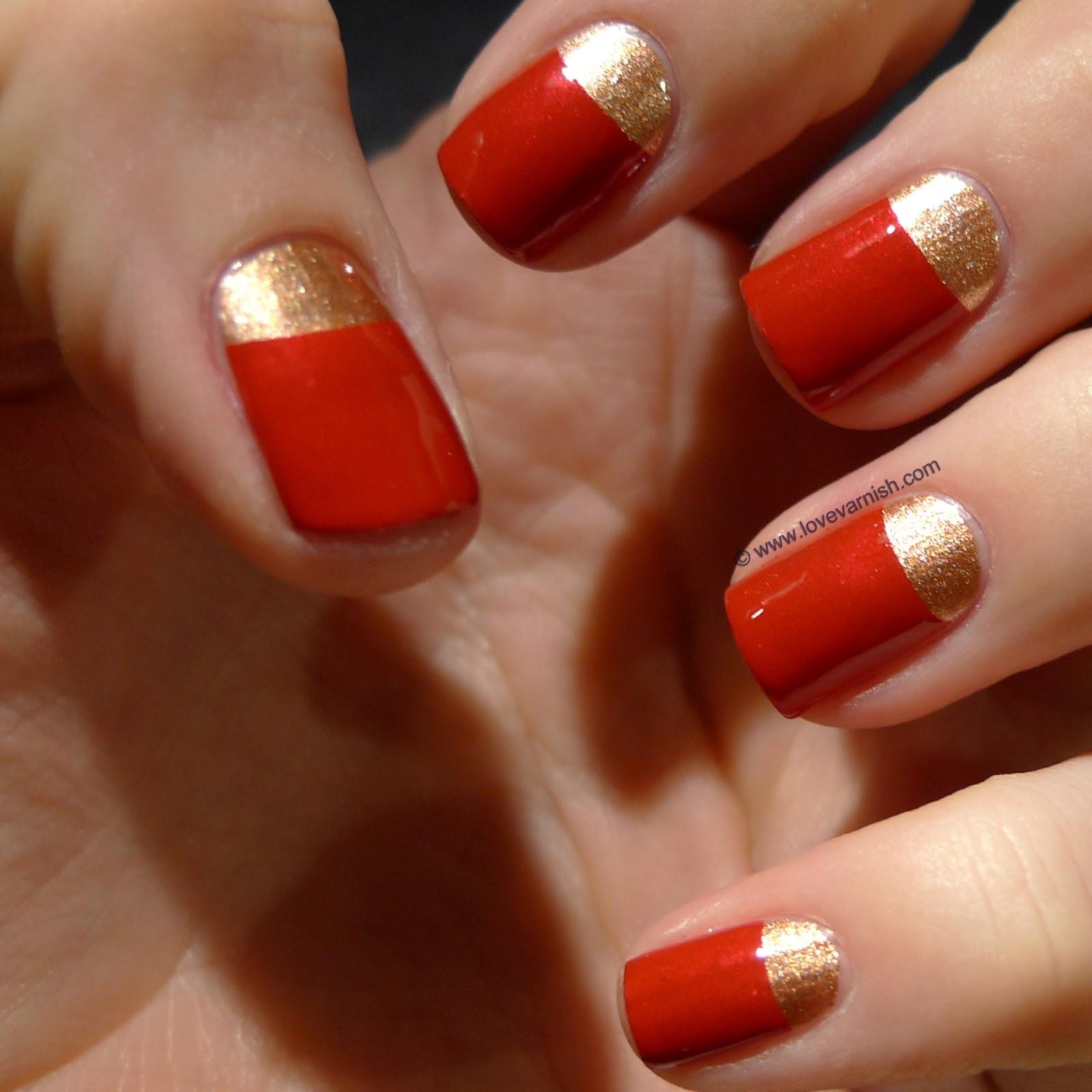 Love Varnish: 31 Day Nail Art Challenge - Red Nails!