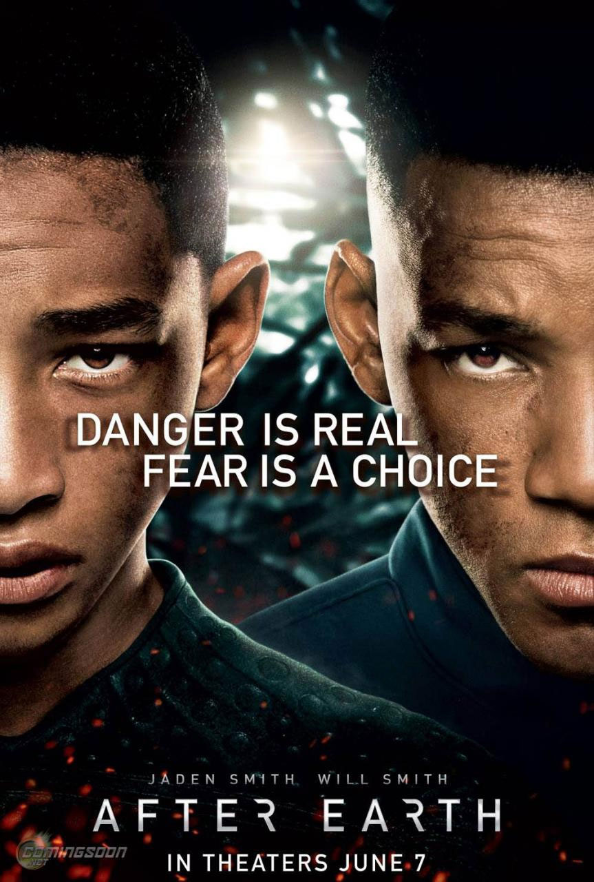 After Earth Will Smith Jaden fear