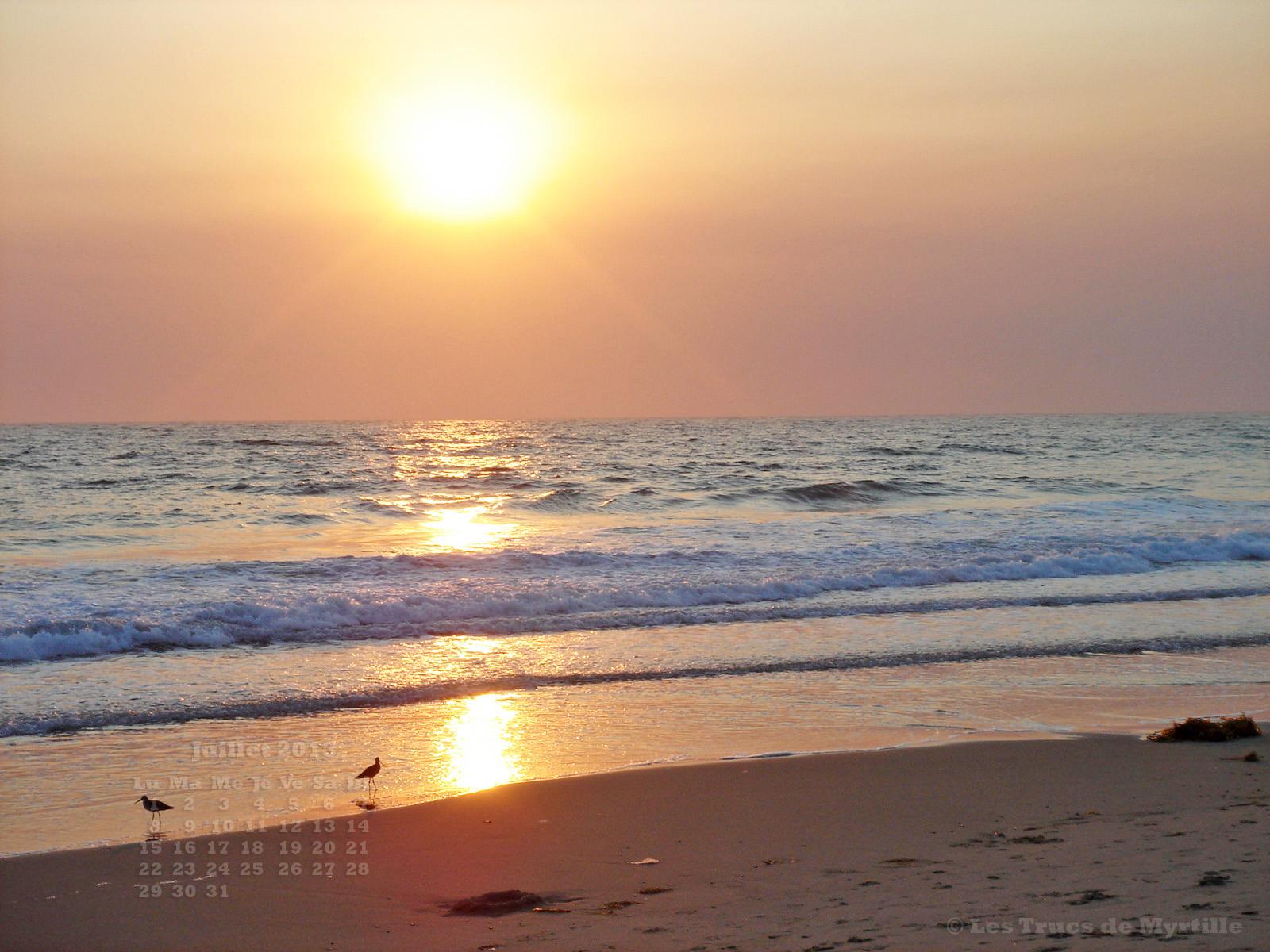 Fonds décran Nature e Fonds décran Mers Océans Plages