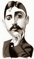 """In 1912 the Nouvelle Revue Francaise rejects A la Recherche du Temps Perdu (""""Remembrance of Things Past"""" or more literally, """"In Search of Lost Time""""), an abysmally awful novel by Marcel Proust. Confined to his cork-lined bedroom, he had slept during the day and worked tirelessly at night to complete it."""