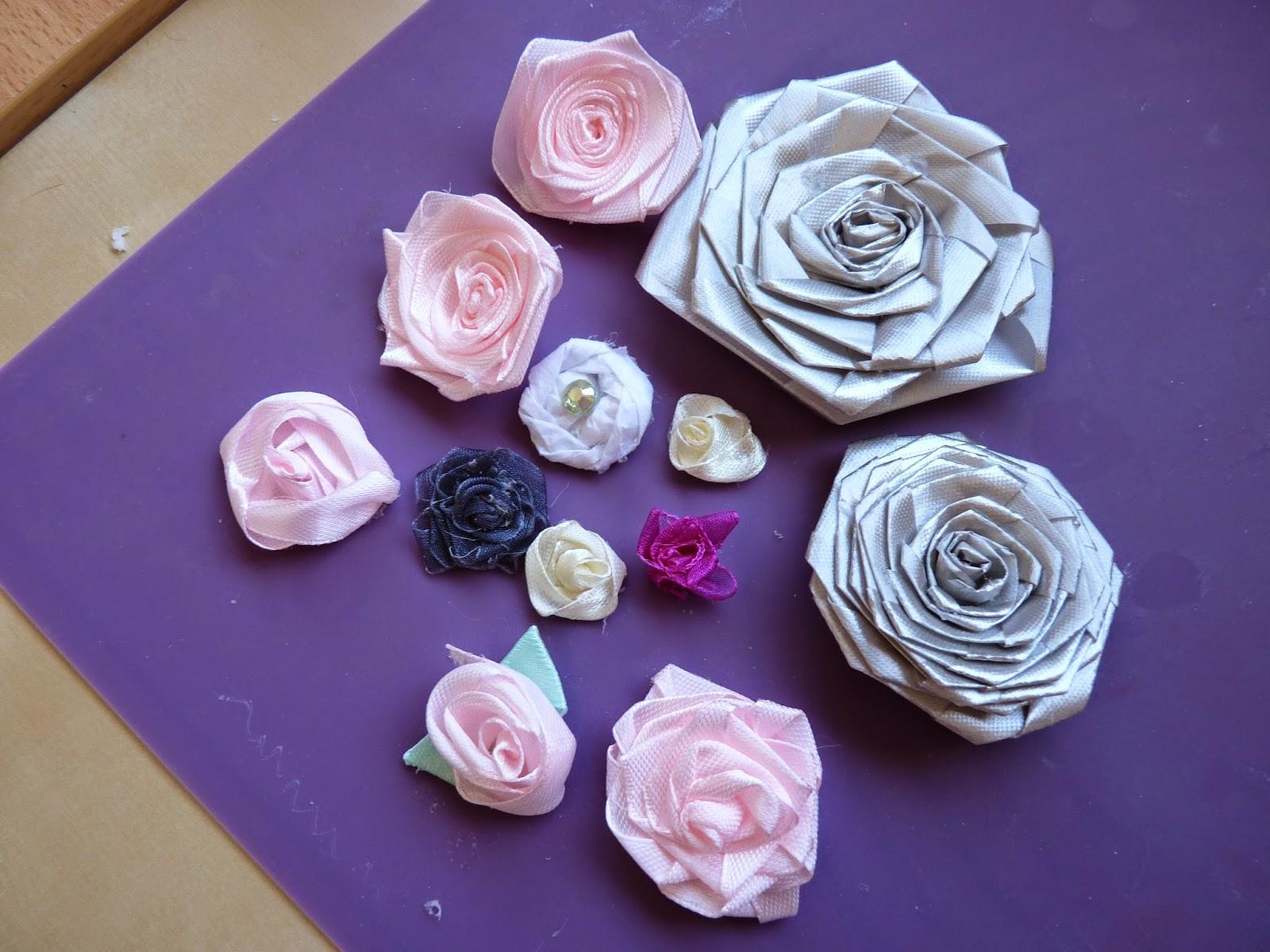 Create In Spain Ribbon Flowers