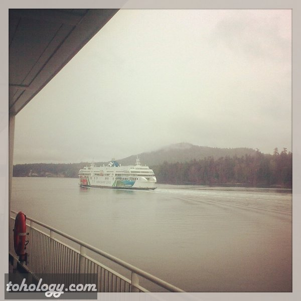 BC Ferries to Victoria, Canada