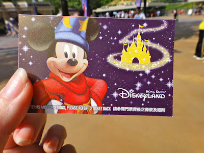 Wizard Mickey Fantasia Hong Kong Disneyland Ticket