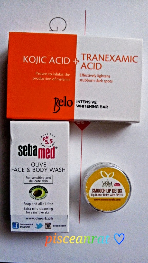 belo kojic, sebamed, v&m smooch