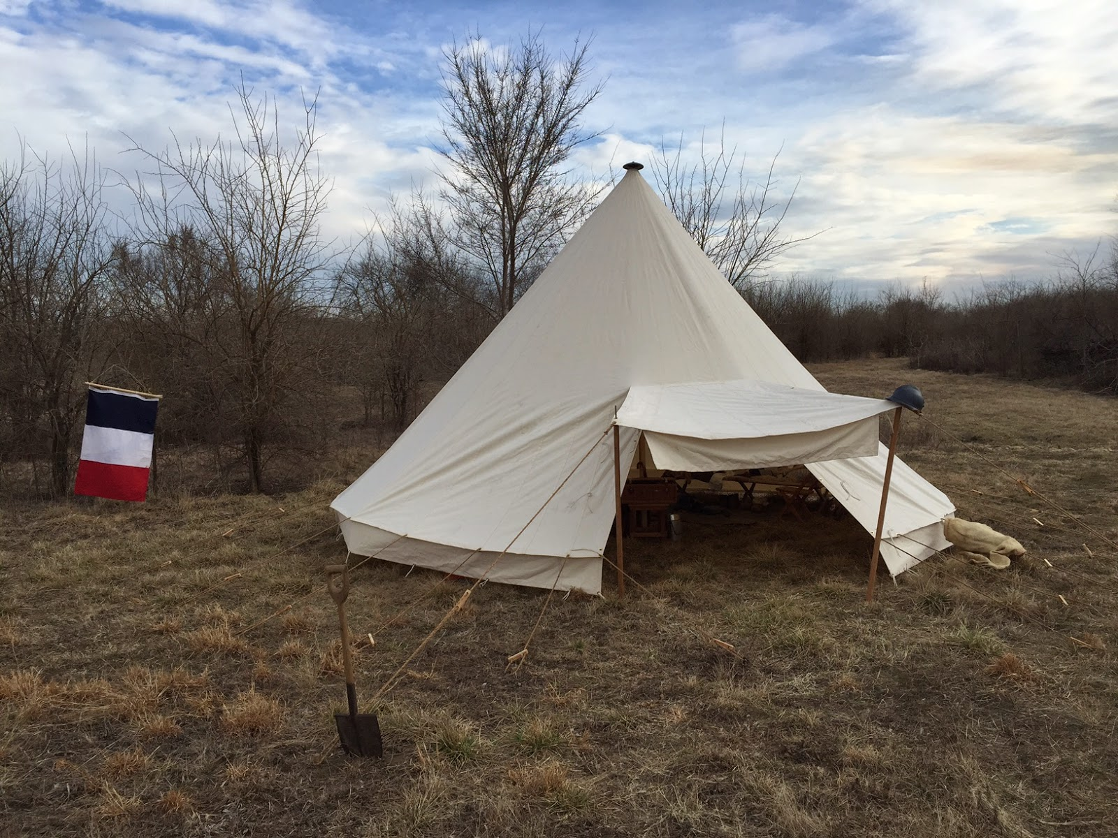 Austro-Hungarian WWI Tent u2013 $900. Wooden pole and stake kit u2013 $225 & Armbruster Manufacturing Co. | World War One Tent Pricing