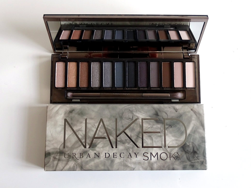 Naked smoky de urban decay pour un regard fum samsworld - Palette maquillage aimantee ...