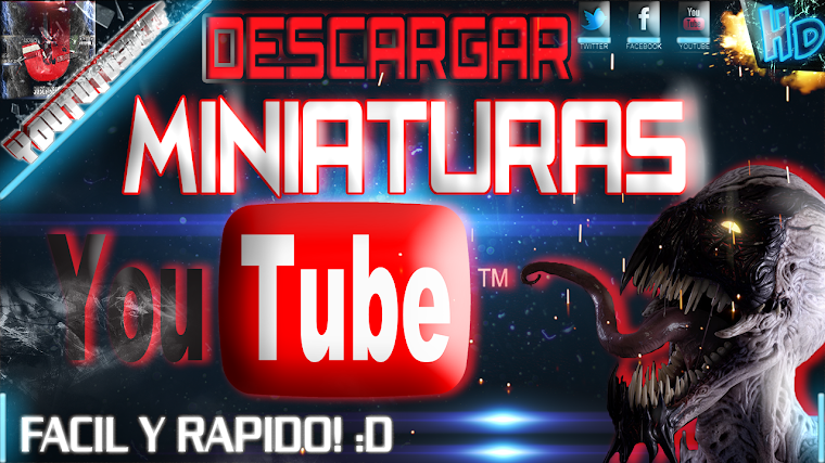 DESCARGAR MINIATURAS DE YOUTUBE FACIL Y RAPIDO | 2015