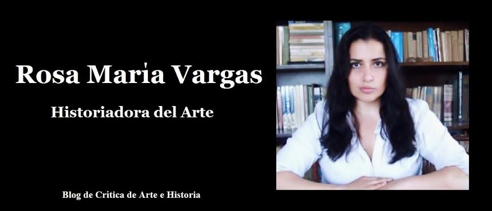 Rosa María Vargas, Historiadora del Arte