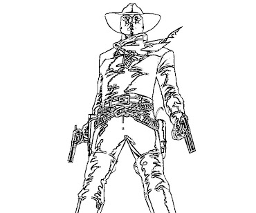 #5 The Lone Ranger Coloring Page