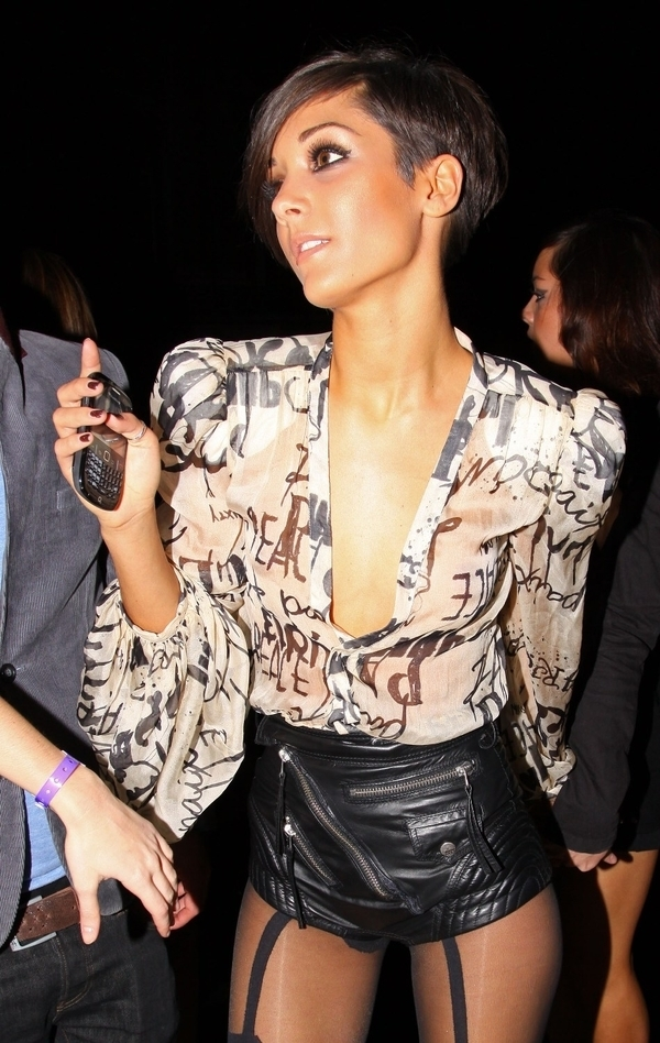 frankie sandford hairstyle. frankie sandford hair 2009.