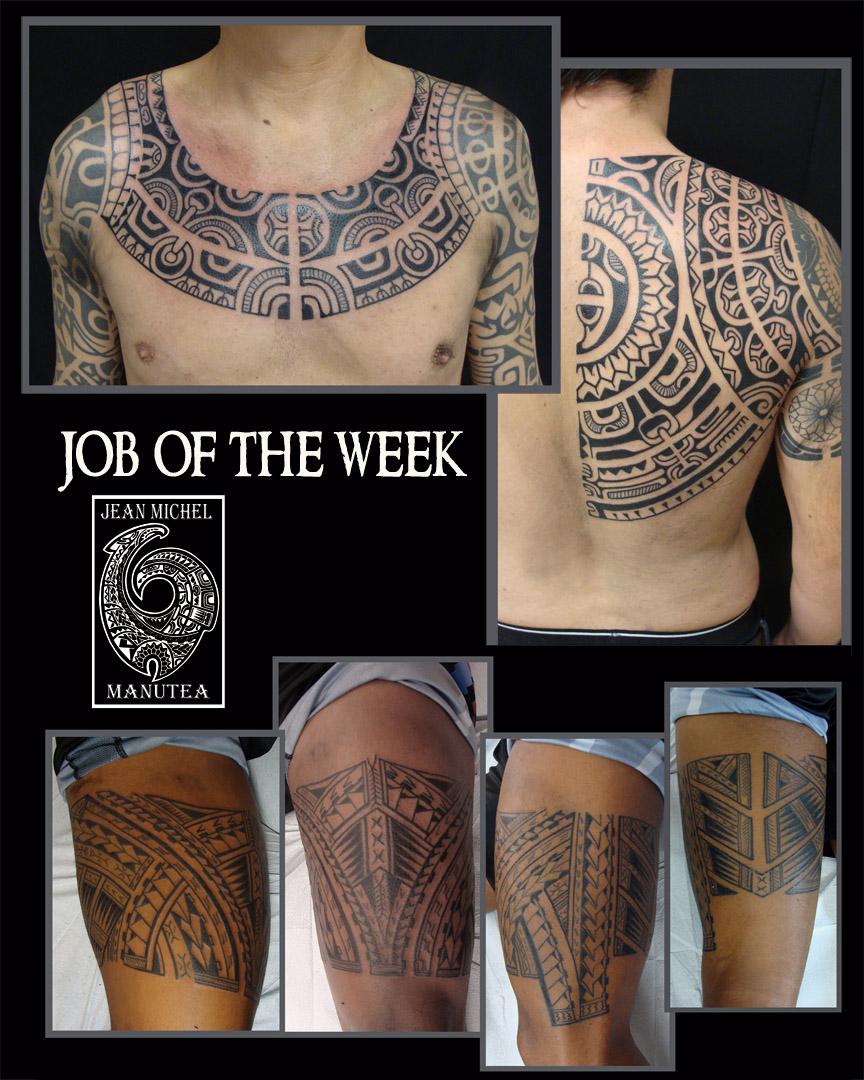 Tatouage polynesien polynesian tattoo few tattoo for Tattoos that last 2 weeks