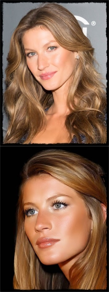 fair skin - Bundchen Vert : Golden brown hair