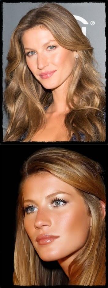 fair skin - Bundchen Vert : Golden brown hair