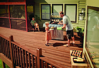 Accent deck design austin texas deck builder for Fiberon decking cost per square foot