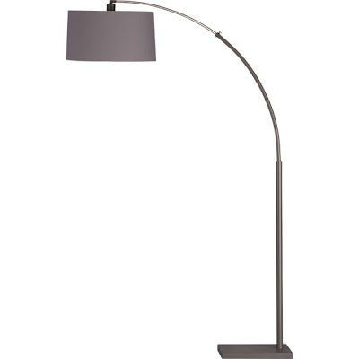 Crate & Barrel, grey lamp, modern, classic