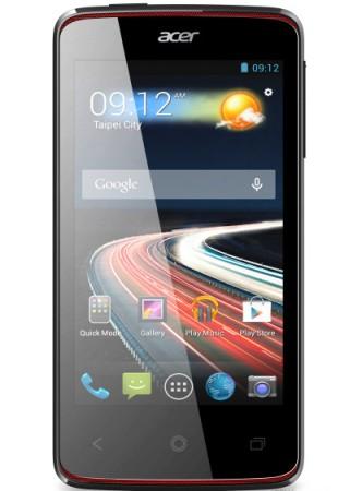 Nuovo smartphone android di fascia bassa Acer