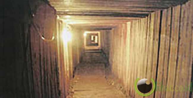Terowongan Obat dari Kanada ke AS - 360 meter