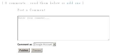 ruang komen lama blogspot