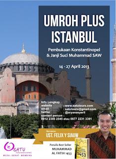umroh plus turki 2013