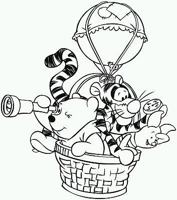 Banco de Imagenes y fotos gratis Dibujos de Winnie Pooh para