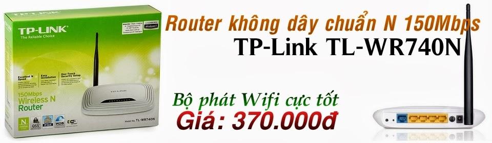 Bộ Phát Wifi Gia Đình TP-Link 740N Chính Hãng - 370.000đ